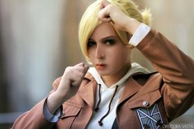 Annie Leonhardt from Attack on Titan  by Jae