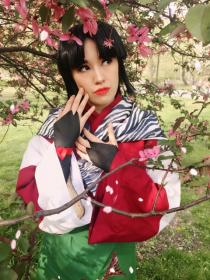 Sango from Inuyasha worn by kris lee