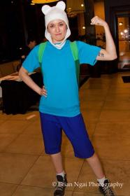 Finn from Adventure Time with Finn and Jake worn by kris lee