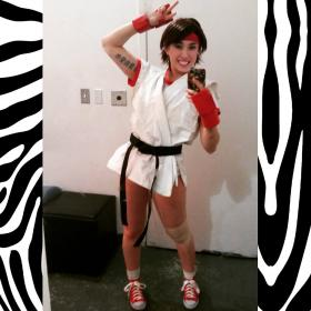 Sakura Kasugano from Street Fighter IV worn by kris lee