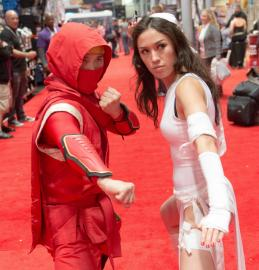 Elektra Natchios from Daredevil worn by kris lee