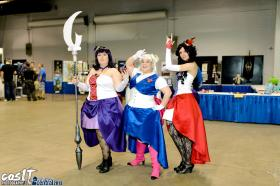 Sailor Saturn from Sailor Moon worn by Azure Rose