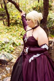 Saber from Fate/Stay Night worn by Azure Rose