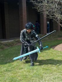 Kirito from Sword Art Online worn by jabes