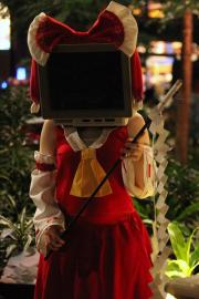 Reimu Hakurei from Touhou Project worn by Lacey