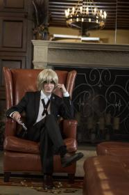 Byakuya Togami from Dangan Ronpa worn by Fabulous Maxwell