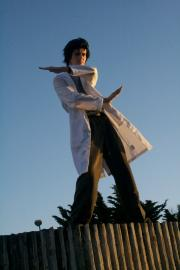 Okabe Rintarou from Steins;Gate worn by Fabulous Maxwell