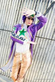 Jotaro Kujo from Jojo's Bizarre Adventure worn by Fabulous Maxwell