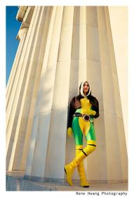 Rogue from X-Men worn by Sugar Blossom