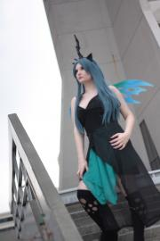 Queen Chrysalis from My Little Pony Friendship is Magic worn by AgentTopangaLawrence
