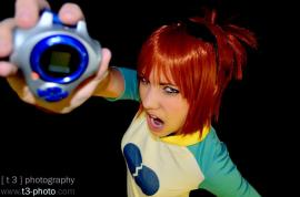 Rika Nonaka / Ruki Makino from Digimon Tamers worn by natsuocosplay
