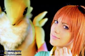 Rika Nonaka / Ruki Makino from Digimon Tamers  by natsuocosplay