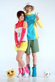 Hikari / Kari Kamiya from Digimon Adventure 02 worn by natsuocosplay