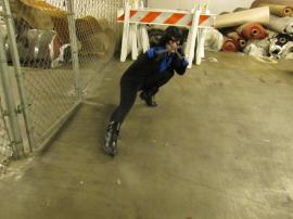Nightwing from Batman worn by sardonicseamstress