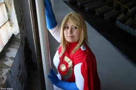 Power Girl from DC Comics worn by The Howling Shoopuf