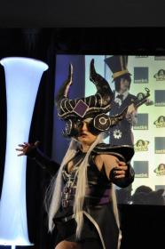 Syndra, the Dark Sovereign from League of Legends worn by Lucia Lawliet