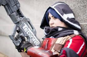 Athena from Borderlands: The Pre-Sequel!