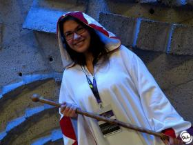 White Mage from Final Fantasy worn by Piyoko