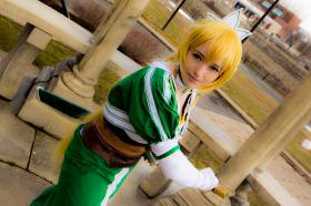 Leafa from Sword Art Online worn by Miss Messy Mia
