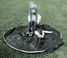 Hatsune Miku from Vocaloid 2 worn by xXSnowFrostXx