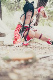 Ahri from League of Legends worn by xXSnowFrostXx