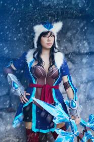 Sivir from League of Legends worn by xXSnowFrostXx