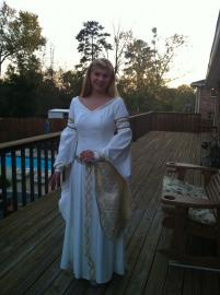 Eowyn from Lord of the Rings worn by letsdancemagic
