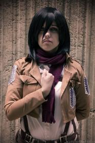 Mikasa Ackerman from Attack on Titan worn by Lyssala
