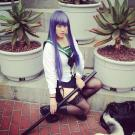 Busujima Saeko from Highschool of the Dead