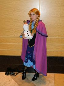 Anna from Frozen worn by Madame Terra Lupus