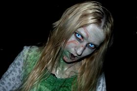 Regan from The Exorcist worn by Melima