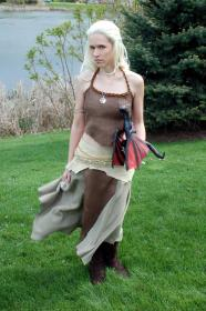 Daenerys Stormborn of House Targeryen from Game of Thrones worn by Melima