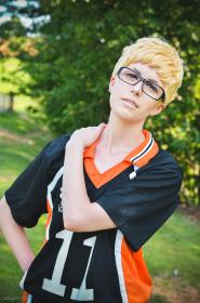 Tsukishima Kei from Haikyuu!! worn by Shinjaninja