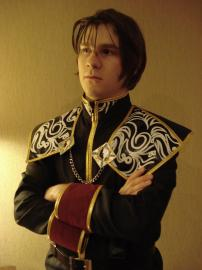 Squall Leonheart from Final Fantasy VIII worn by Warpath