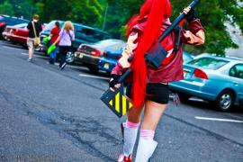 Yoko Littner from Tengen Toppa Gurren-Lagann worn by KO Cosplay