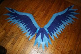 Articuno from Pokemon worn by KO Cosplay