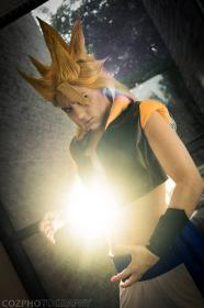 Gogeta from Dragonball Z worn by KO Cosplay