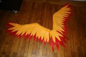 Moltres from Pokemon worn by KO Cosplay