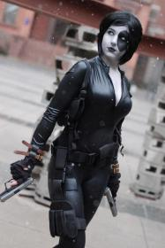 Domino from X-Force worn by KO Cosplay
