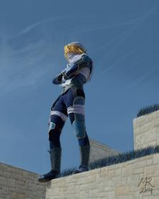 Sheik from Super Smash Bros. Brawl worn by VFire