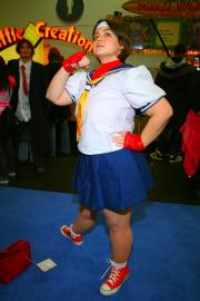 Sakura Kasugano from Street Fighter Alpha worn by Rhi