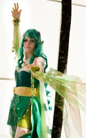 Rydia from Final Fantasy IV worn by Rheannon