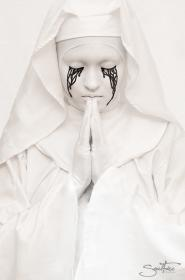 Crying Nun from American Horror Story: Asylum worn by Fushicho