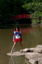 Sailor Mars from Sailor Moon worn by Fushicho