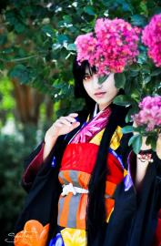 Enma Ai from Jigoku Shoujo worn by Fushicho