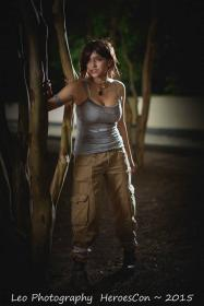 Lara Croft from Tomb Raider worn by Fushicho