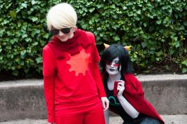 Terezi Pyrope from MS Paint Adventures / Homestuck worn by Emilysu