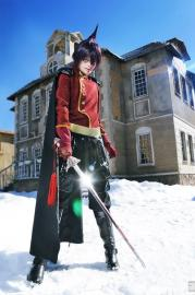 Ren Tao from Shaman King worn by Reiny