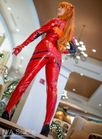Asuka Langley Sohryu from Neon Genesis Evangelion by Alouette