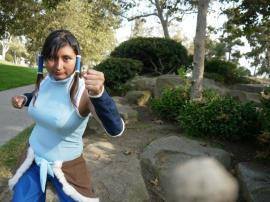 Korra from Legend of Korra, The worn by Estela Cosplay